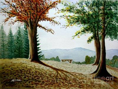 Painting - Rest Area by Stacy C Bottoms