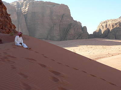 Rest At Wadi Rum Art Print by James Lukashenko