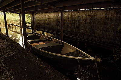 Photograph - Rest In Boathouse. Giethoorn by Jenny Rainbow