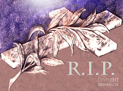 R.i.p Photograph - Rest In Peace My Friend by Al Bourassa