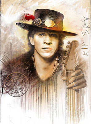 Crying Painting - Rest In Peace Srv by Rip Kastaris