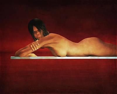 Painting - Rest by Jan Keteleer