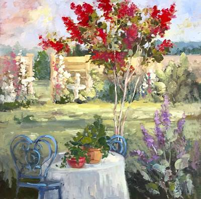 Painting - Rest by Mary Scott