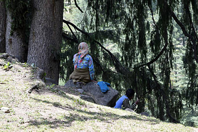 Photograph - Rest On The Hills by Sumit Mehndiratta