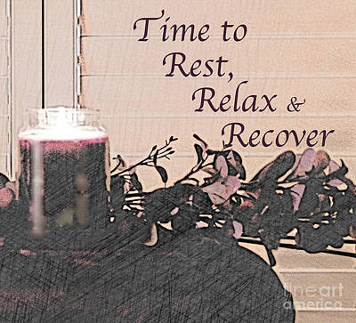 Photograph - Rest, Relax And Recover by Sherry Hallemeier