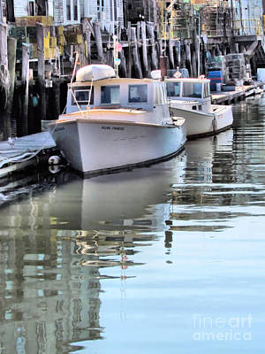 Fore River Photograph - Rest Time by Elizabeth Dow