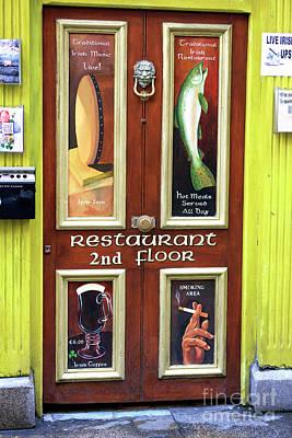Photograph - Restaurant 2nd Floor by John Rizzuto