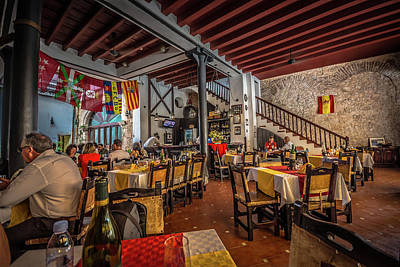 Photograph - Restaurant by Bill Howard