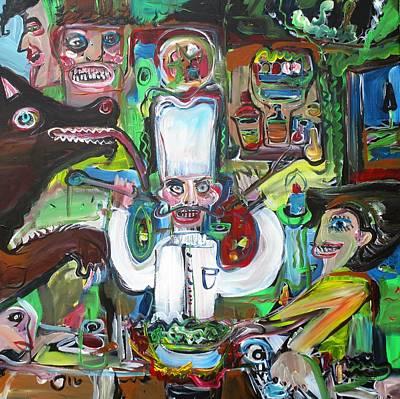 Painting - Restaurant by Fabrizio Cassetta