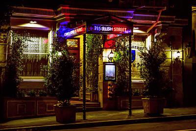 Photograph - Restaurant Jeanne D'arc by Bonnie Follett