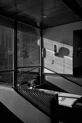 Restaurant Late Afternoon Art Print by Robert Ullmann