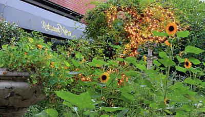 Photograph - Restaurant Nora's Garden by Cora Wandel