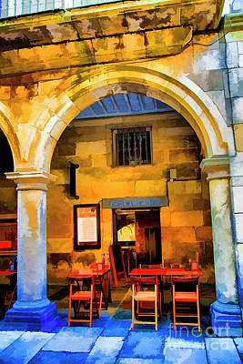 Photograph - Restaurante Sandago by Rick Bragan
