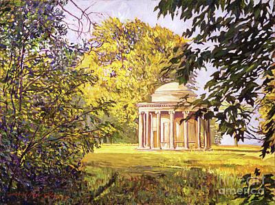 Restful Meadow Original by David Lloyd Glover
