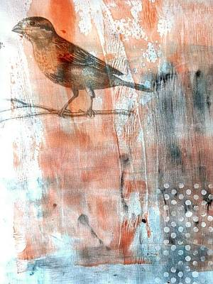 Mixed Media - Restful Moment by Rose Legge