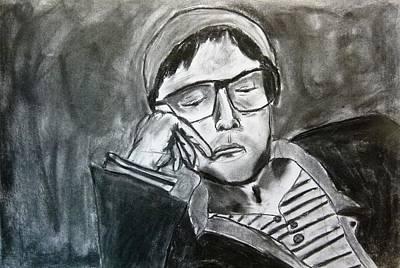 Resting Art Print by Alexandra Herr