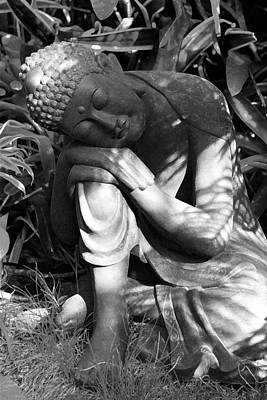 Photograph - Resting Buddha by Karon Melillo DeVega