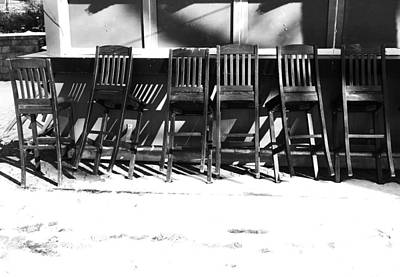 Photograph - Resting Chairs by David Pantuso