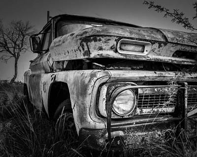 Chevy C10 Photograph - Resting Chevy by Tim Singley