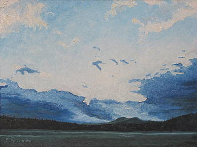 Eastern Townships Painting - Resting Clouds  by Francois Fournier
