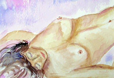 Painting - Resting by Donna Blackhall