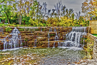 Photograph - Resting Falls by William Norton