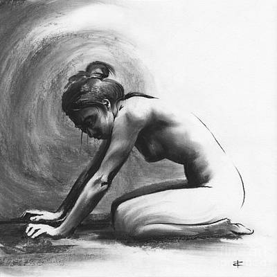 Drawing - Resting Ill by Paul Davenport