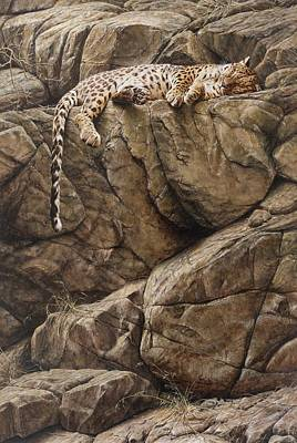 Painting - Resting In Comfort by Alan M Hunt