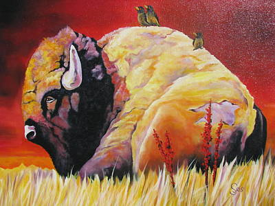 Resting In The Sun Art Print by Shirley C Checkos