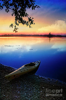 Photograph - Resting Kayak by Scott Kemper