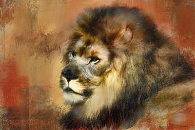 Painting - Resting King by Jai Johnson