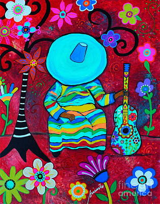Painting - Resting Mariachi by Pristine Cartera Turkus