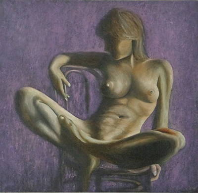 Painting - Resting by Monty Perales