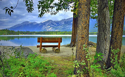 Photograph - Resting Place At Lake Annette by Tara Turner