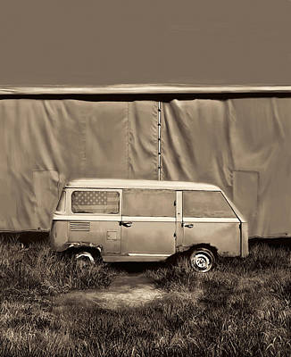 Sixties Painting - Resting Van 3 by Bekim Art