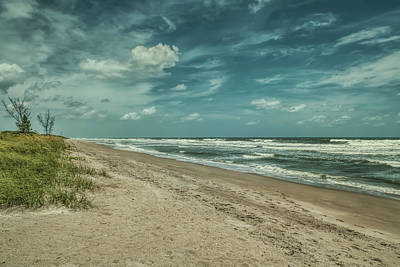 Photograph - Restless Beach by John M Bailey