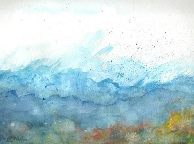 Painting - Restless Ocean  by Janet Hinshaw