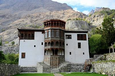 Photograph - Restored Khaplu Palace Heritage Fort Gilgit Baltistan Pakistan by Imran Ahmed