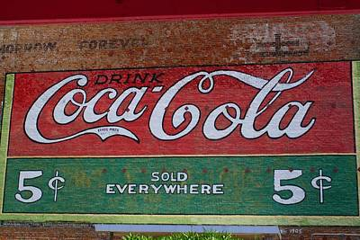 Photograph - Restored Sign by Kathryn Meyer