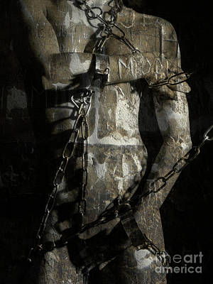 Photograph - Restrained Statue by Simon Pocklington