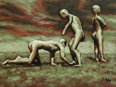 Painting - Restraining Order by Leo Mazzeo