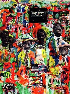 Restroms Art Print by Joe-louis Ruffin