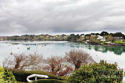 Photograph - Restronguet Creek In Winter by Terri Waters
