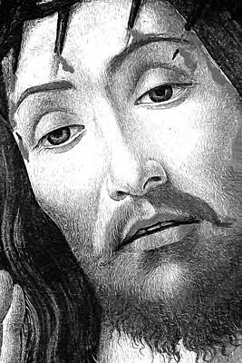 Resurrecting Digital Art - Resurected Jesus Christ by Munir Alawi