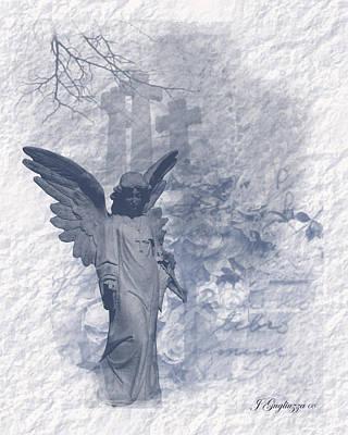 Resurrection Angel Art Print by Jean Gugliuzza
