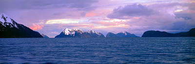 Resurrection Bay And Kenai Fjords Art Print by Panoramic Images