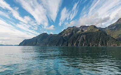 Photograph - Resurrection Bay, Kenai Fjords National Park In Alaska by Brenda Jacobs
