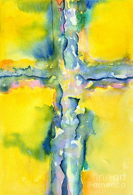 Redeemer Painting - Resurrection Day by Ruth Borges