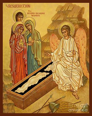 Painting - Resurrection - Myrrh Bearing Women - Jcmbw by Joan Cole