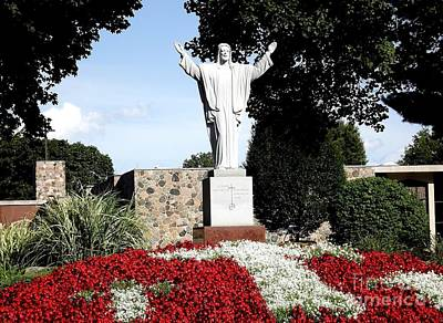 Photograph - Resurrection Of Jesus Statue by Rose Santuci-Sofranko